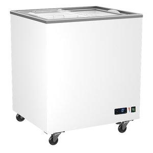 Frysbox, 208 Liter med glidande glaslock